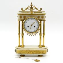 Ormolu Empire Clock
