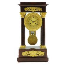 19th Century French Column Clock