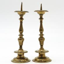 16th / 17th CenturyBronze Candlesticks