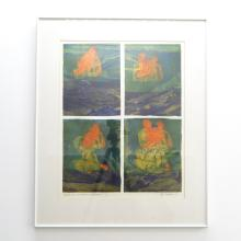 Signed Anja Sonneborn Etching