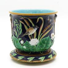 George Jones Cachet Pot with Under Platter