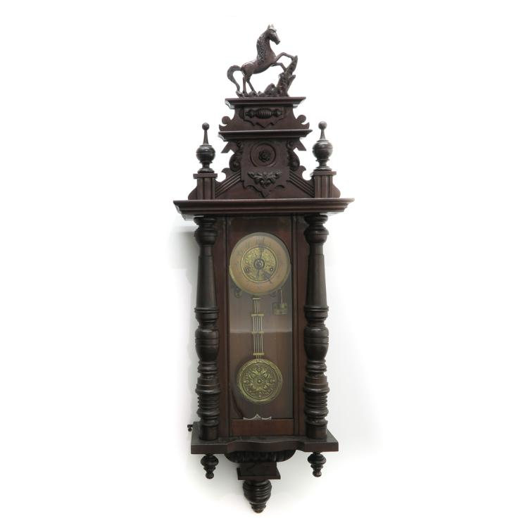 19TH CENTURY REGULATOR CLOCK