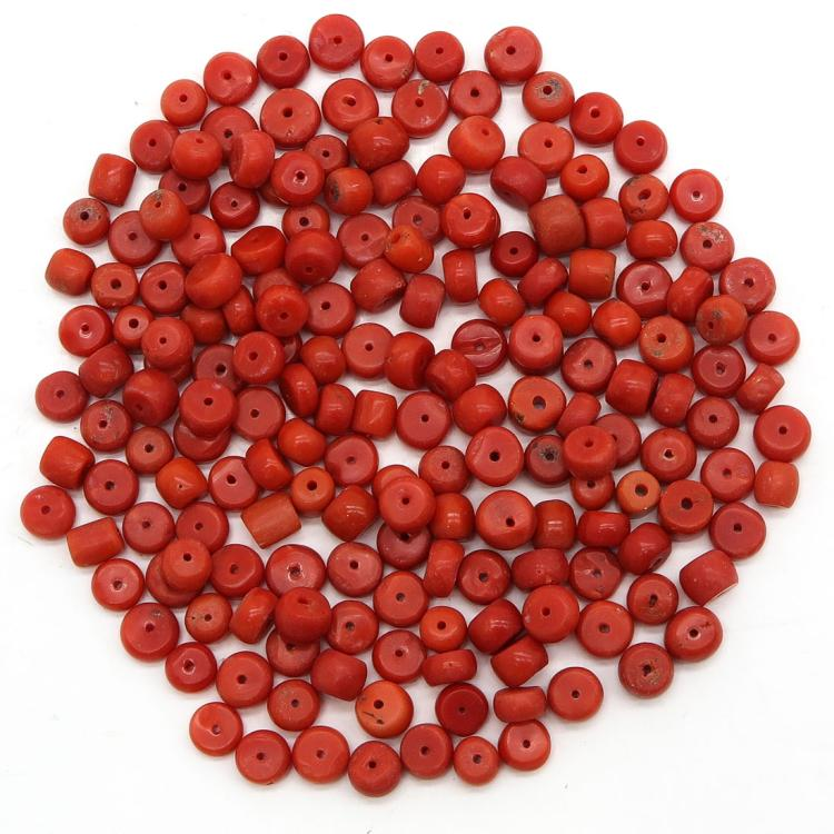 LOT OF 19TH CENTURY RED CORAL