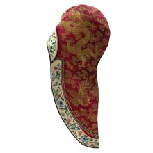 Silk Embroidered Chinese Hat
