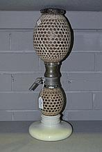 French double gourd shaped soda siphon, approx