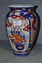 Japanese Imari vase, approx 30cm H