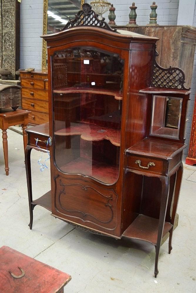 Early 20th Century Mahogany Display Cabinet