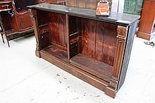George III low bookcase, possibly by Gillows ex