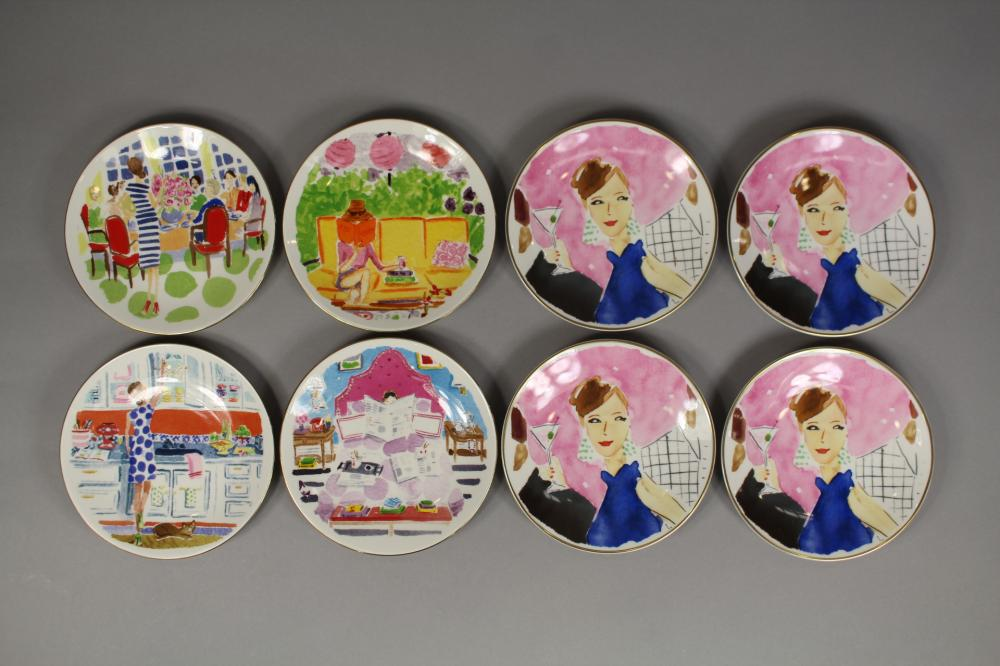 Collection of Kate Spade New York side plates