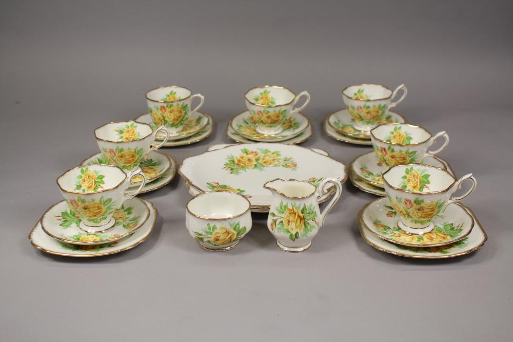 Royal Albert, Tea Rose pattern part service