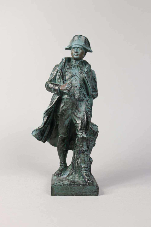 French bronze Napoleon figure, approx 22cm H