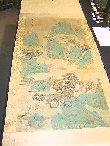 Chinese scroll attributed to Zhao Yong (1289-1362)