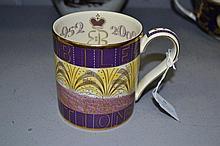 Queen Elizabeth II Wedgwood mug designed by Eric