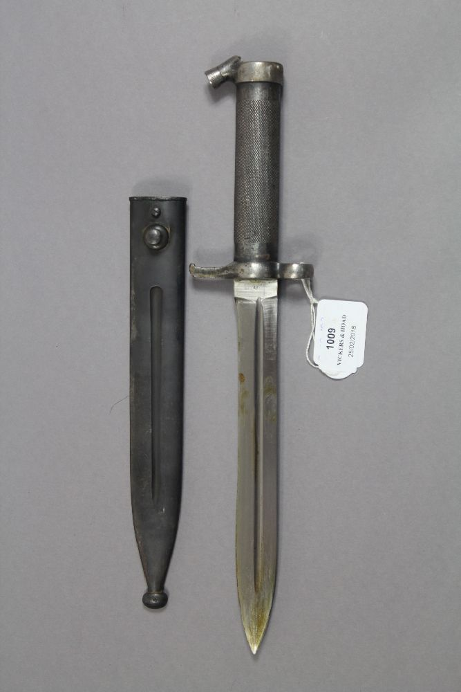 Swedish M1896 bayonet and scabbard. Excellent example.
