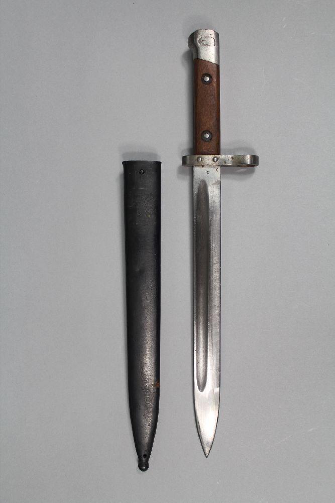 Czech knife bayonet and scabbard