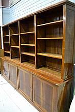 Impressive French mahogany four door open top