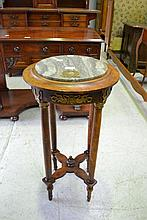 French Empire style jardiniere stand, approx 78cm