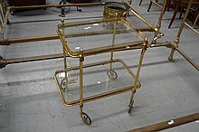 Vintage French tiered trolley