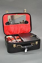 French travelling bag with toiletry section
