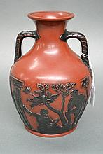 Antique 19th century painted terracotta Portland