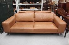 Kelvin Giormani leather lounge suite (2)