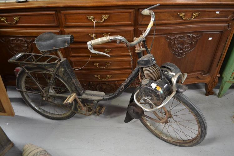 Vintage Solex S2200 Bicycle With Pedal Powered Motor