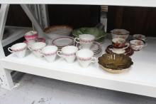 Assortment of estate porcelain to include Royal Vistaware, cups, saucers, plates, bowls, etc