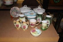 Assortment of estate porcelain to included lidded turreens, jugs, etc