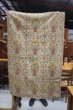 Antique greek woven sheet, approx 300cm x 200cm