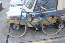 French mobile bicycle