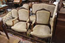 French five piece Louis XV style lounge suite (5)