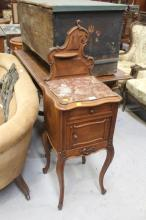 French French Louis XV style nightstand, approx 117cm H