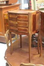 French nightstand, approx 73cm H