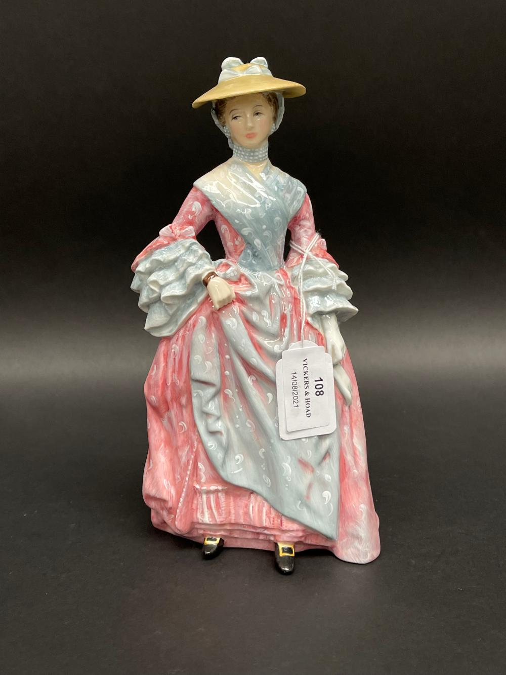 Royal Doulton Mary Countess Howe, HN3007, 640/5000, with certificate and box, approx 24cm H