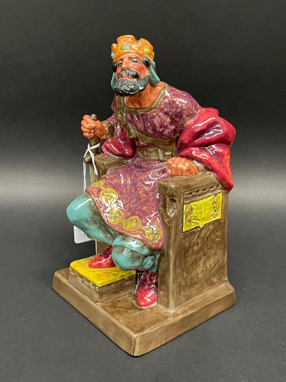 """Royal Doulton """"The Old King"""" HN2134, approx 26cm H"""