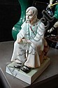 Herend seated farmer, approx 34cm