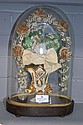Small Antique French marriage dome standing 35cm