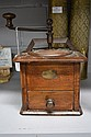Antique French Peugeot walnut and beech coffee