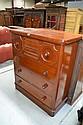 Antique Australian 19th century Cedar seven drawer