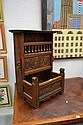 Antique French small Brittany hutch, early 19th