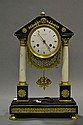 Fine Antique French 1st Empire clock, by Caranda