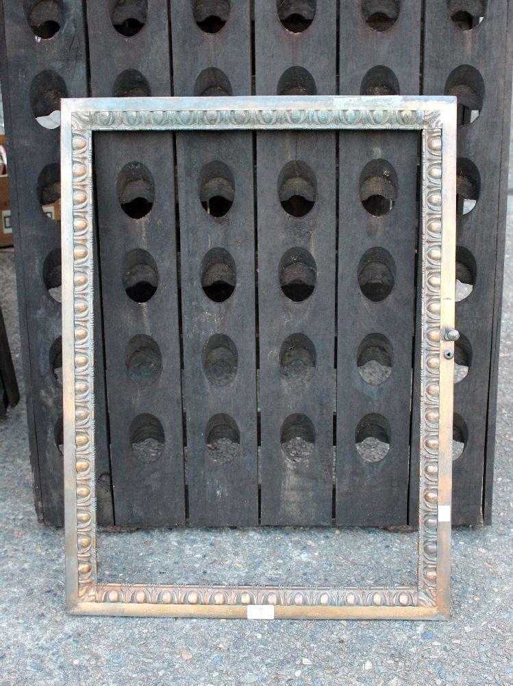 An art deco period cast bronze small door approx 55cm x 74c for Art deco period