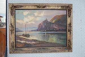Karl Quarck (1859-1950 German) oil on canvas