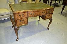 Fine quality English walnut Queen Anne style