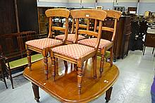 Set of four mid 19th century Australian bar back