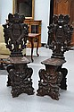 Fine pair of Antique early 19th century Sgabello