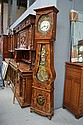 Antique French Comtoise clock, approx 230cm H