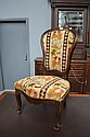 Antique French Louis Phillipe salon chair, with