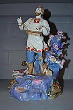 Russian/Ukrainian porcelain figure, Sea Tsar,
