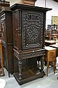 Antique mid 19th century French hall cupboard on